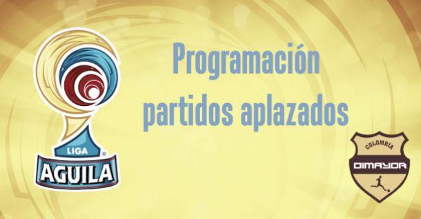 Programación de los partidos aplazados de la Liga Águila 2015-I