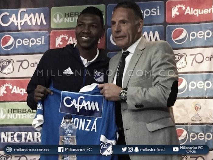 Robinson Aponzá, motivado para dar un 'gancho' en Millonarios