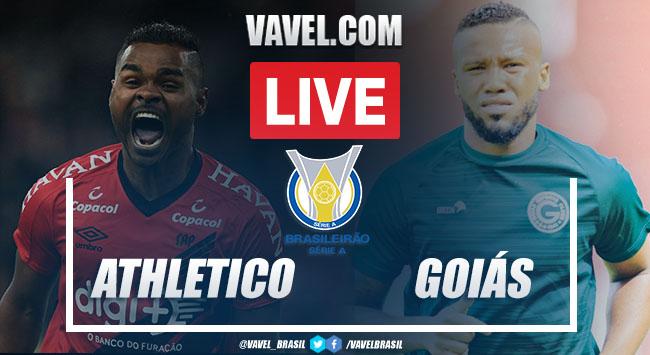 Athletico-PR x Goiás AO VIVO: jogo online pelo Campeonato Brasileiro 2020
