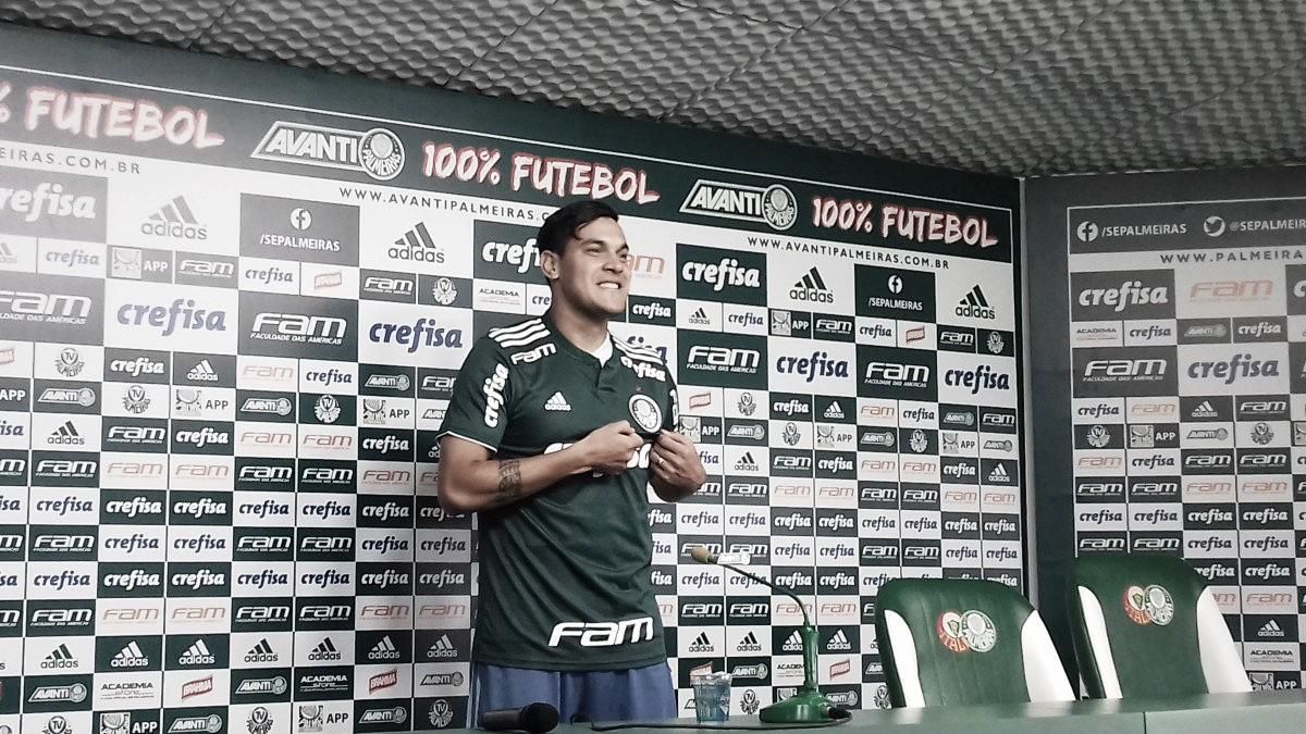 Capitão da seleção paraguaia, Gustavo Gómez é apresentado no Palmeiras