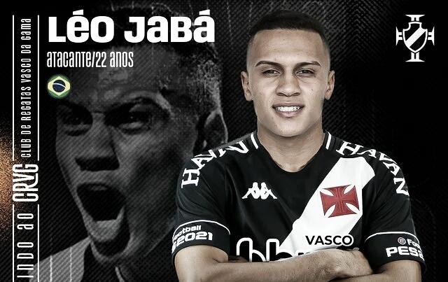 Vasco anuncia contratação do atacante Léo Jabá por empréstimo