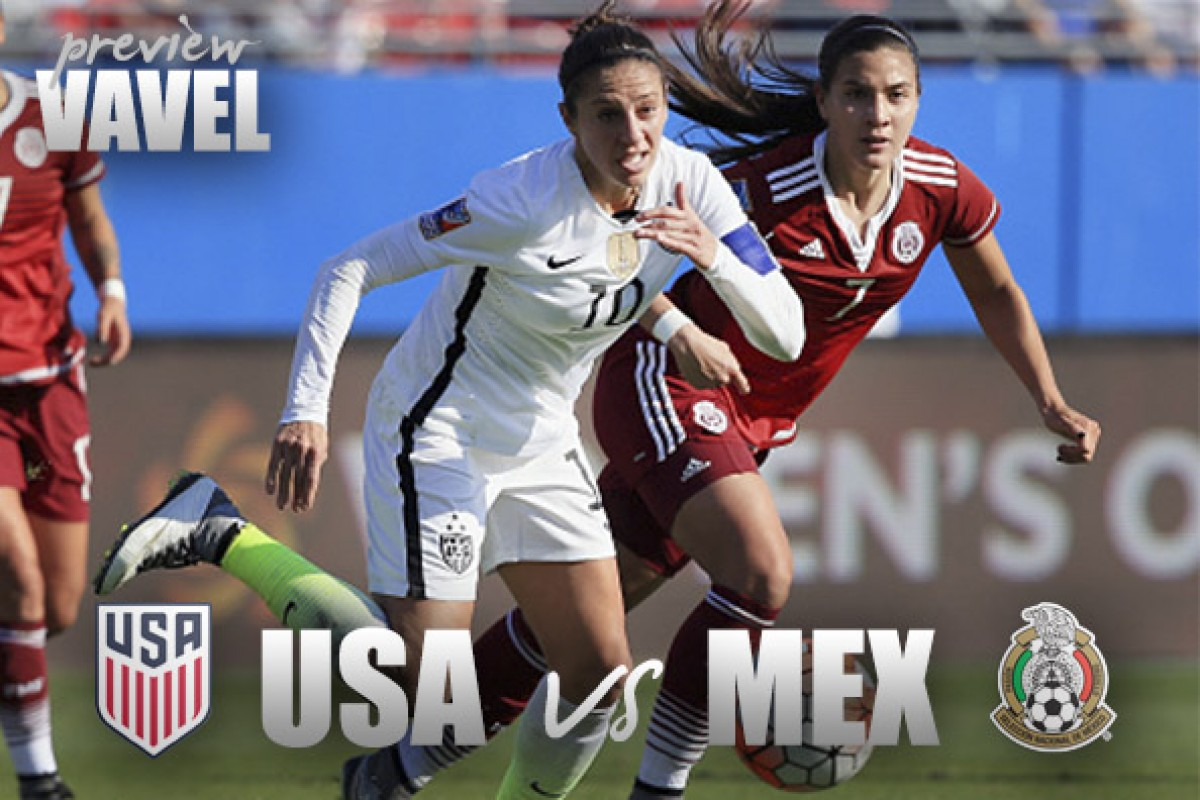 Image result for USA vs Mexico women Live