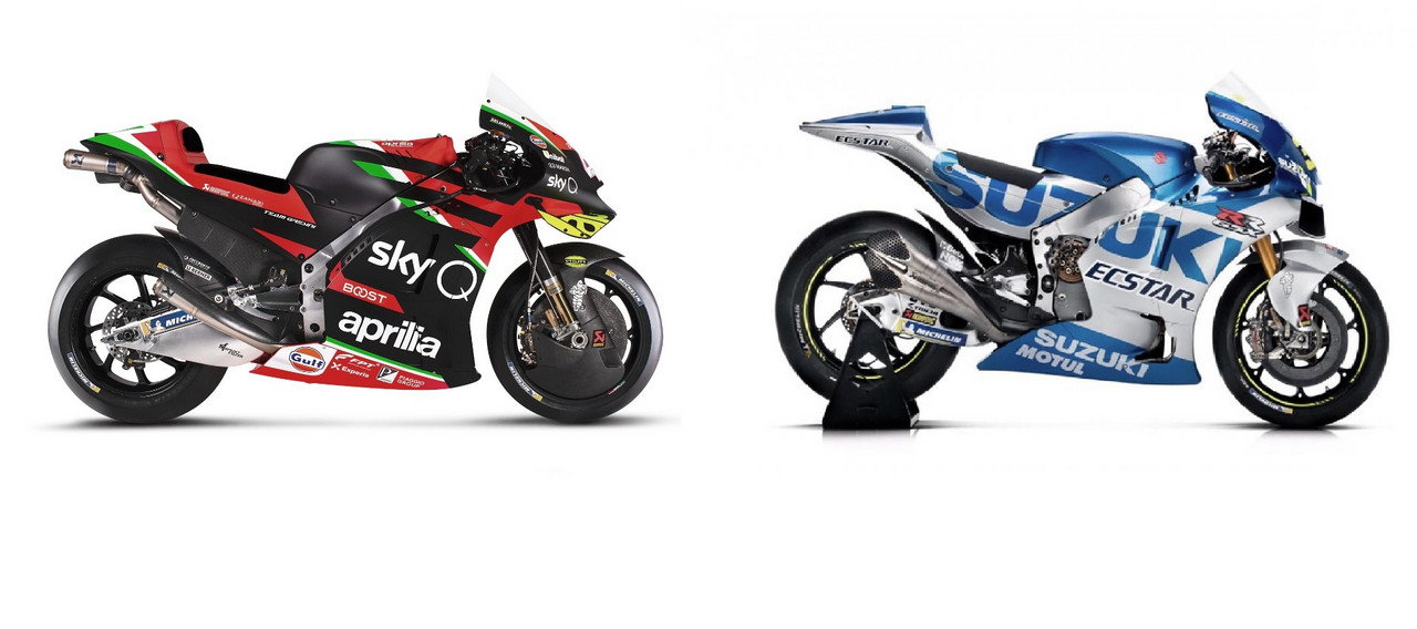 Aprilia y Suzuki sin equipo completo para 2021
