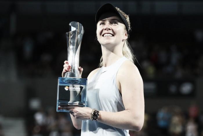 Svitolina gana el primer título WTA del año