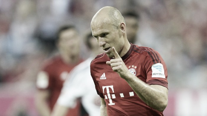 Arjen Robben ruled out for six weeks, set to miss the start of the Bundesliga season