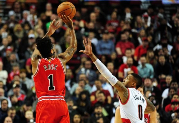 Chicago Bulls Prevail Over Portland Trail Blazers On The Road