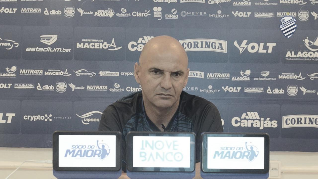 Adriano Rodrigues valoriza vitória do CSA contra o Brusque fora de casa