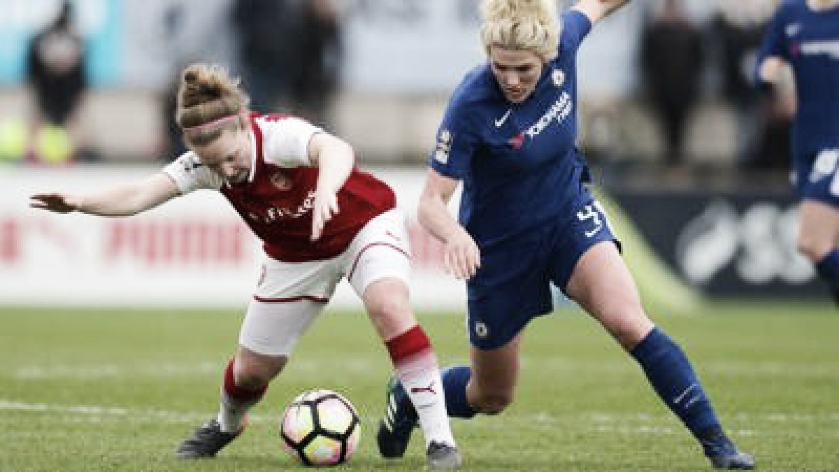 Result: Arsenal W.F.C. 1-3 Chelsea L.F.C. in the 2018 SSE Women's FA Cup Final