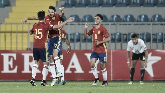 Germany under-17 1-2 Spain under-17: Ruiz and Diaz strike in second half to seal final spot