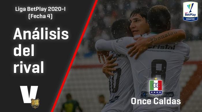 Rionegro Águilas, análisis del rival: Once Caldas