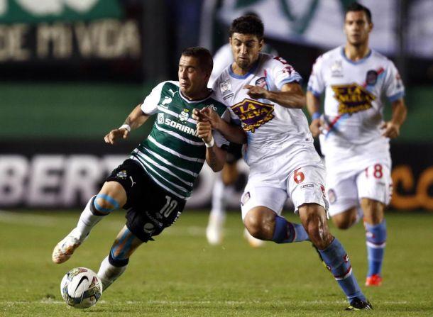 """Crónica de Arsenal 3 - Santos Laguna 0 """"Ojo con el Arse..."""""""