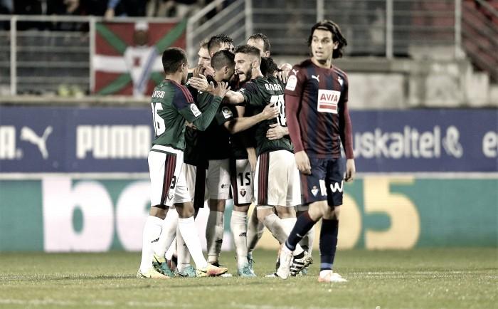 Osasuna vs Eibar: Sergio León vs Sergi Enrich