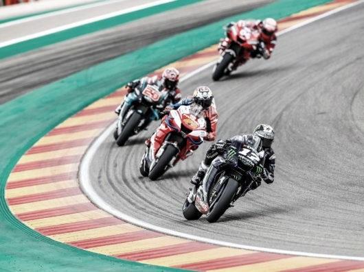 Carrera de MotoGP en Motorland Aragón en 2019. Foto: motogp.com
