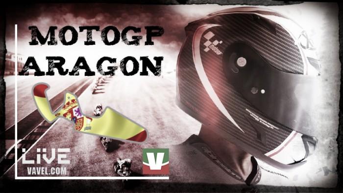 Diretta MotoGP - Gran Premio di Aragon live: comanda Marquez, italiani giù dal podio