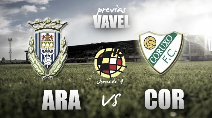 Previa Arandina CF - Coruxo FC: duelo a vida o muerte