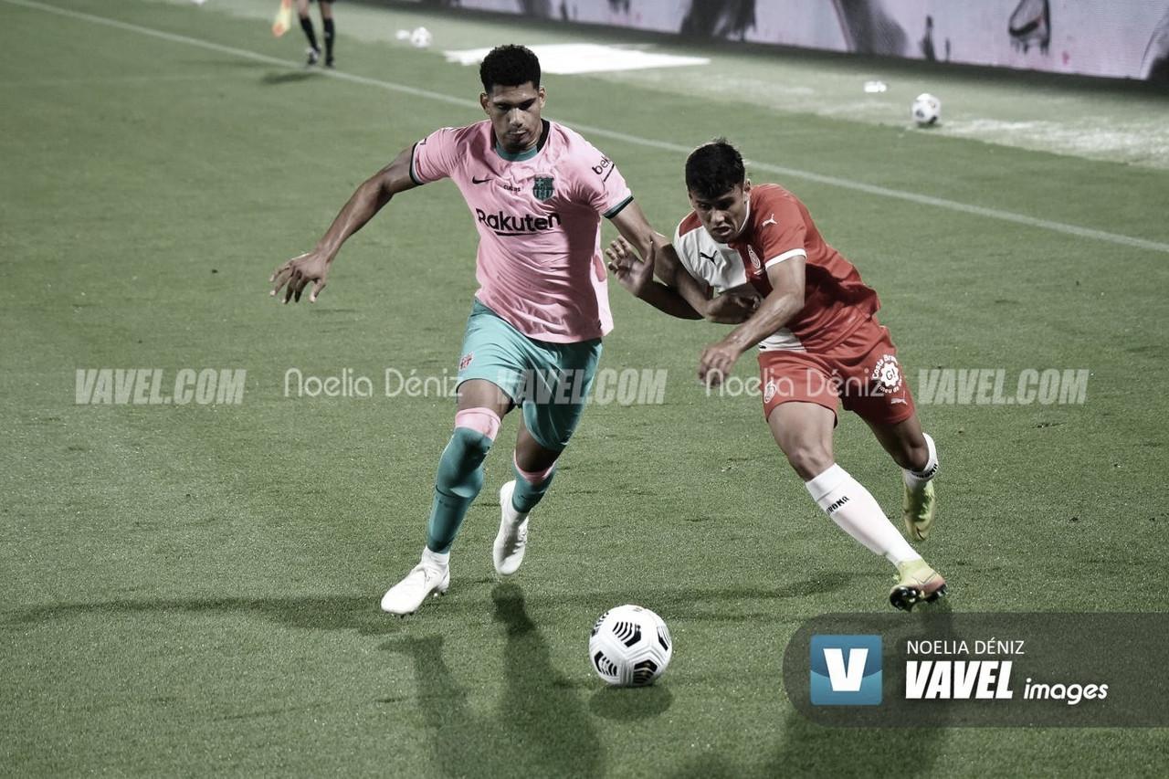 Araujo marca su primer gol con el primer equipo