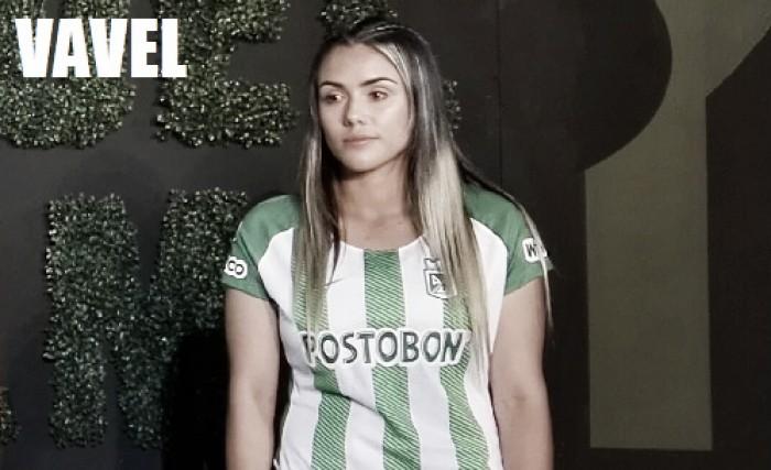 """Alejandra Arbeláez: """"Estoy feliz y orgullosa de poder debutar en el club que amo"""""""