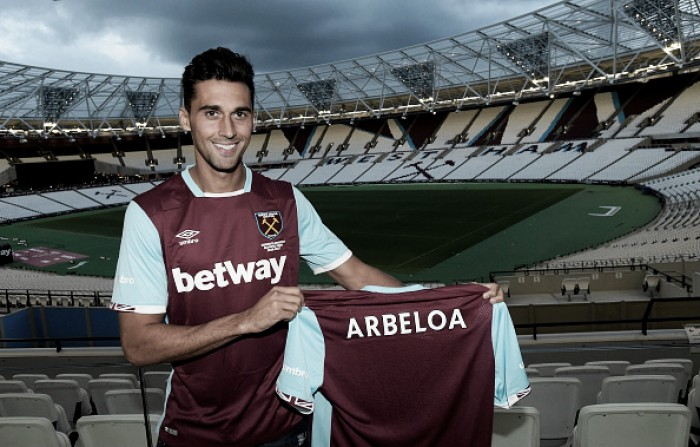 Arbeloa passes West Ham medical