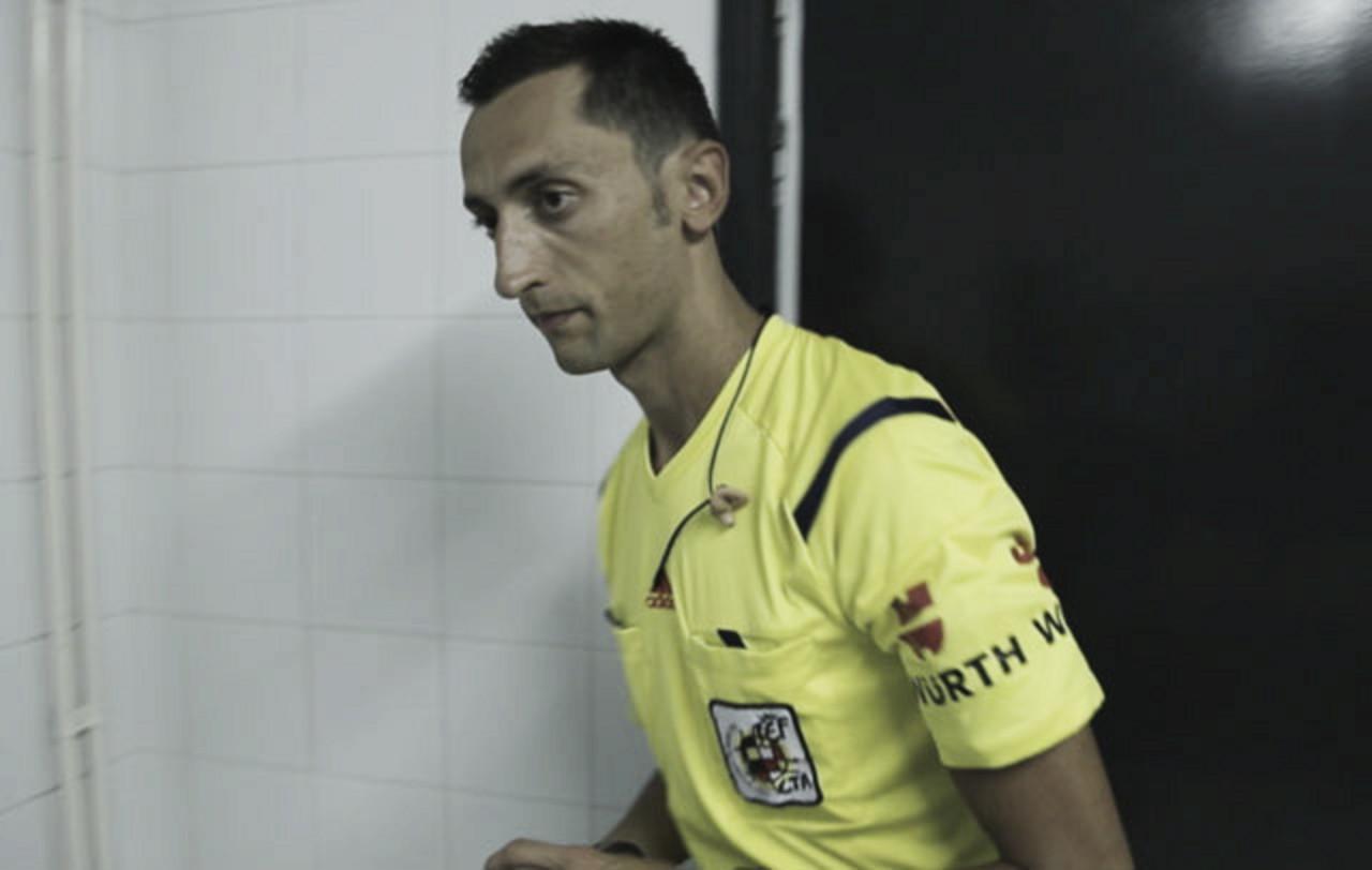 José María Sánchez Martínez, último árbitro del Real Valladolid en 2018