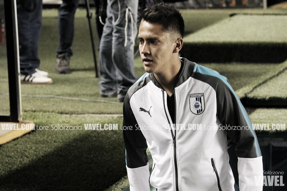 """Aldo Arellano: """"Emocionado por el gol"""""""