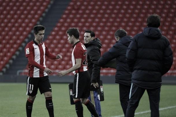 Debut de Julen Arellano con el Bilbao Athletic