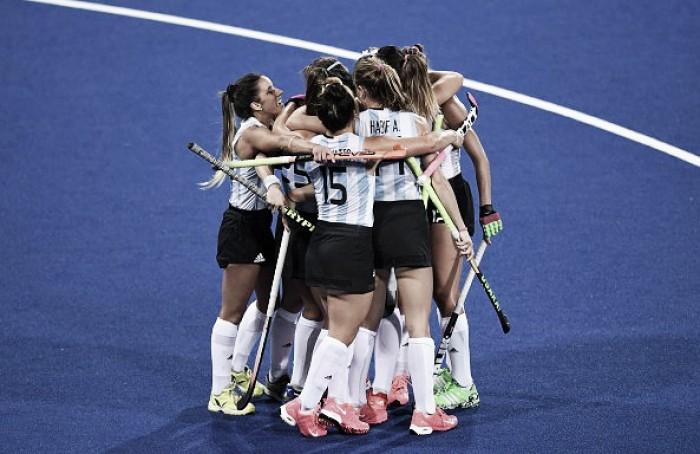 Sem surpresa, Argentina goleia Japão na primeira vitória no hóquei de grama feminino