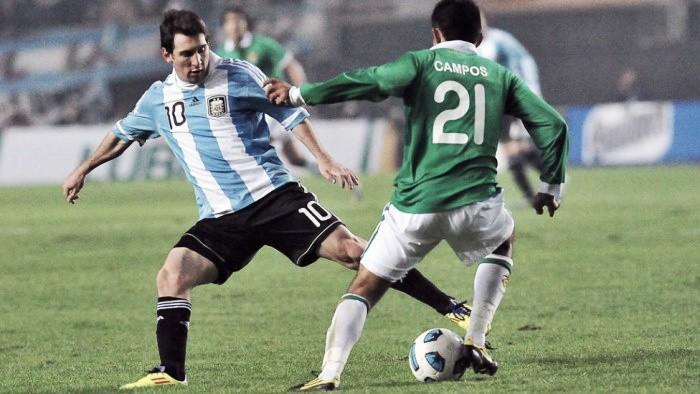 Historial entre Argentina y Bolivia