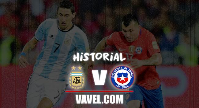 Argentina vs Chile: historial de enfrentamientos