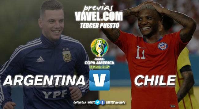 Previa Argentina vs Chile: Otra vez enfrentados en la Copa pero sin el título en juego