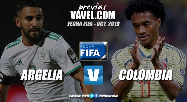 Previa Argelia vs. Colombia: a seguir engranando el chasis