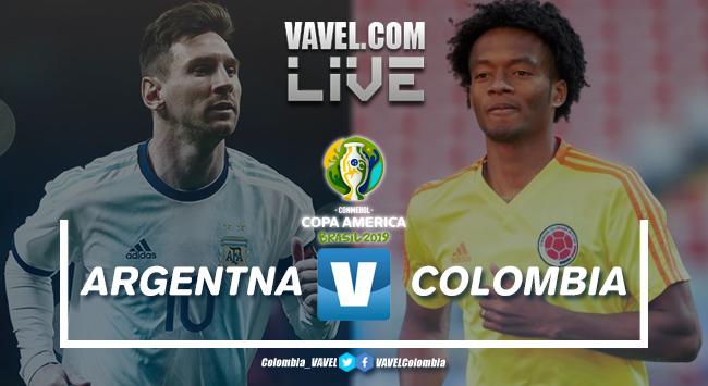 Resumen Argentina vs Colombia por la Copa América 2019 (0-2)