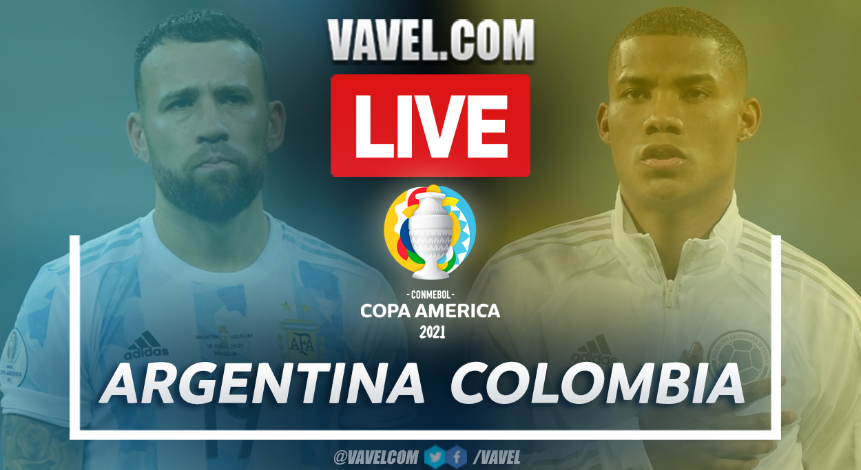 Highlights and goals: Argentina 1(3) - 1(2) Colombia in Copa America 2021
