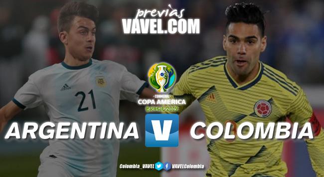 Previa Argentina vs Colombia: comienza la acción en el grupo B de la Copa América 2019