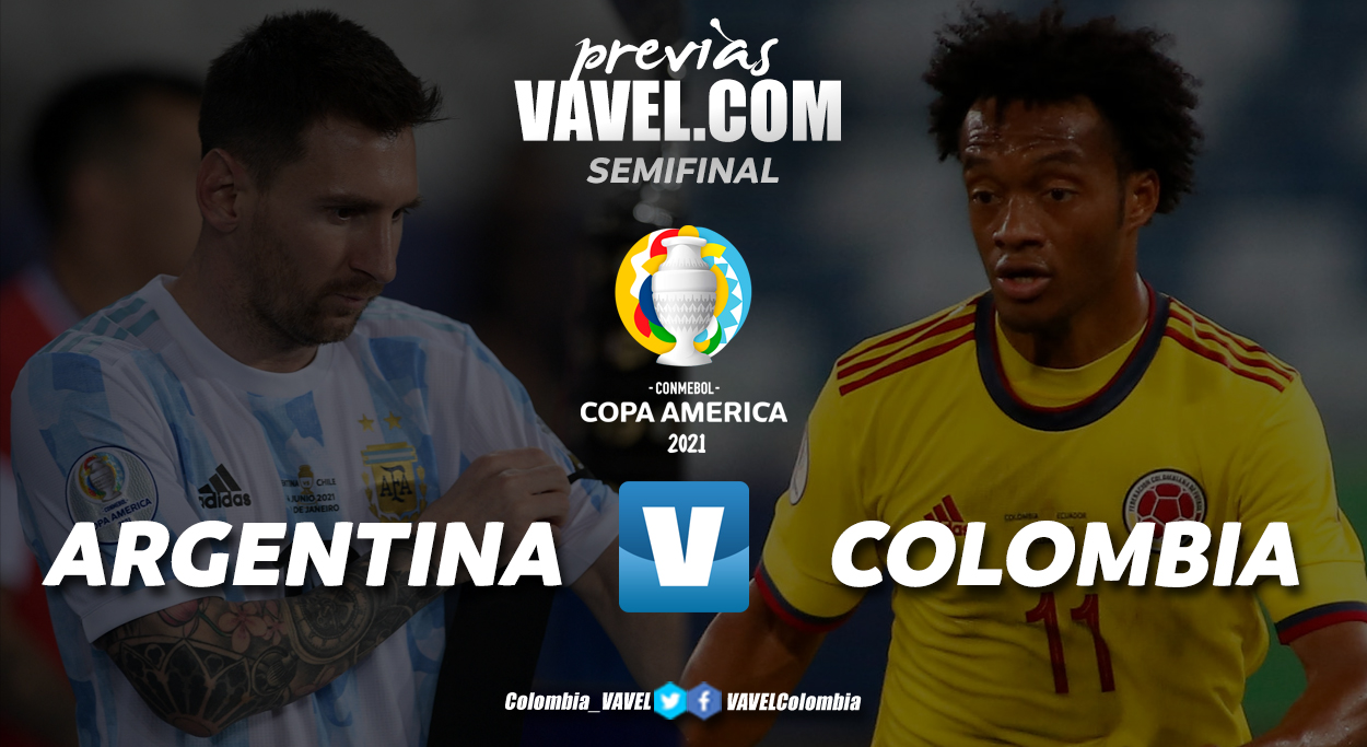 Previa Argentina vs Colombia: el segundo tiquete a la final
