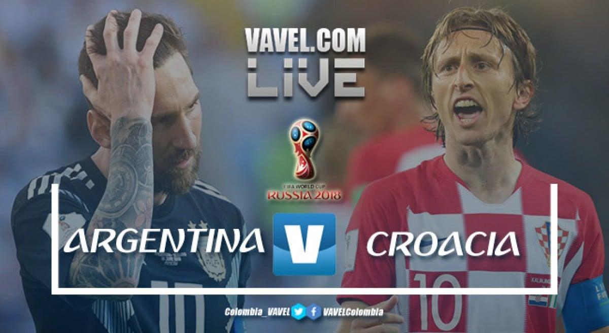 Resumen Argentina vs Croacia: un repaso de fútbol deja a los argentinos al borde del fracaso