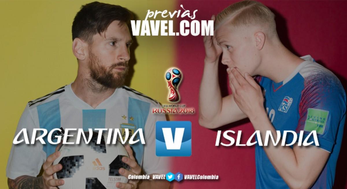 Previa Argentina vs Islandia: obligatorio empezar con pie derecho