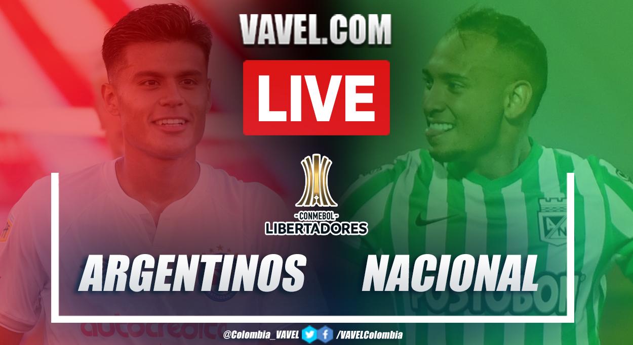 Resumen Argentinos Juniors vs Atlético Nacional (1-0) en la fecha 5 del grupo D por Copa Libertadores 2021
