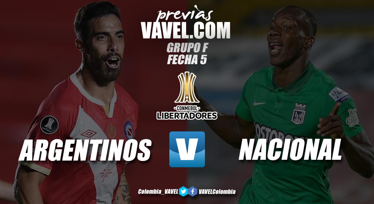 Previa Argentinos Juniors vs. Atlético Nacional: duelo para recuperar la esperanza de clasificar