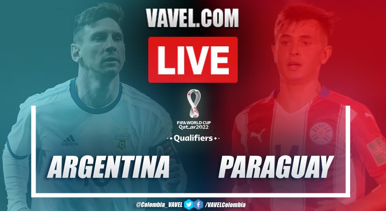 Resumen: Argentina vs Paraguay (1-1) por eliminatorias a Catar 2022