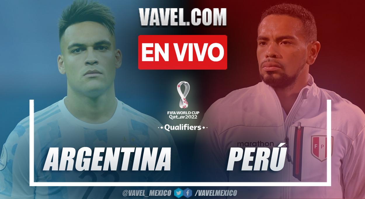 Resumen y gol: Argentina 1-0 Perú en Eliminatorias a Catar 2022