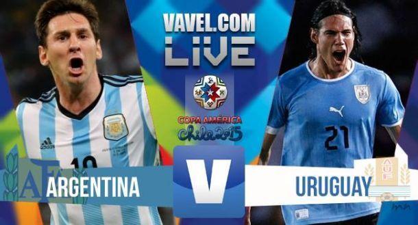 Risultato Argentina - Uruguay, Copa America 2015 (1-0)