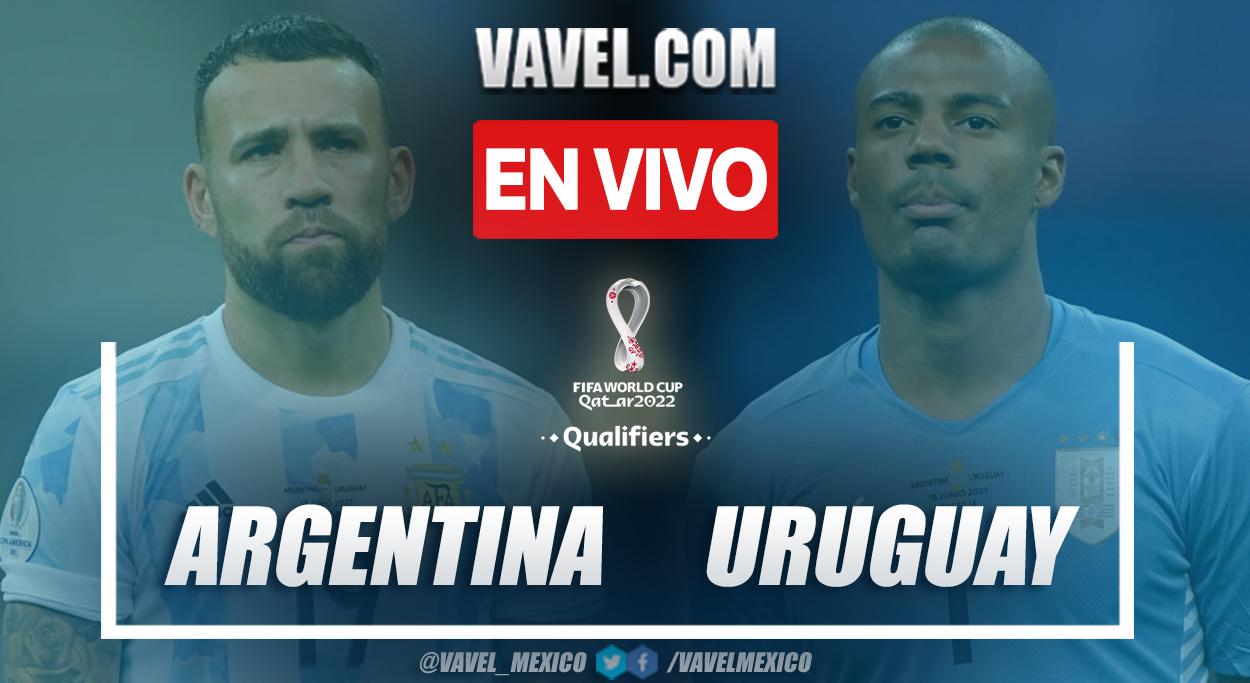 Resumen y goles: Argentina 3-0 Uruguay eliminatorias a Catar 2022