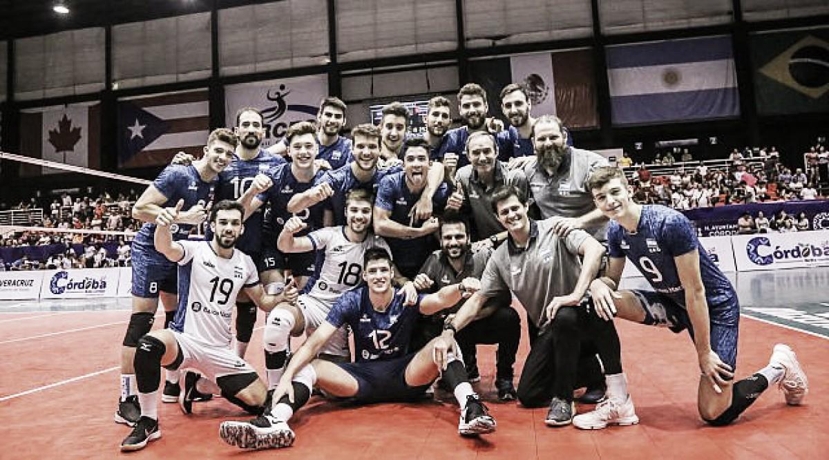 Argentina campeón y clasificado