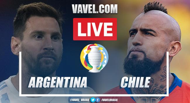 Gols e Melhores Momentos de Argentina 1 x 1 Chile