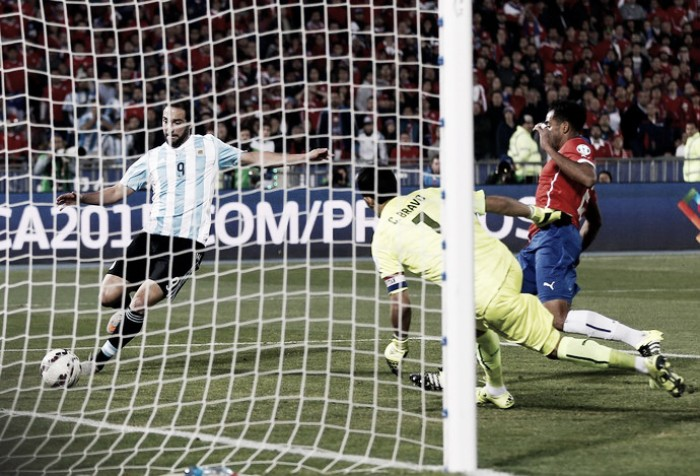 Após título chileno em 2015, argentinos querem revanche na Copa América