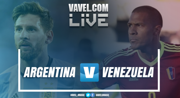 Resultado Argentina x Venezuela nas Eliminatórias da Copa do Mundo 2018 (1-1)