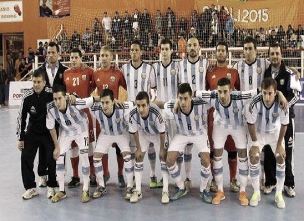 Argentina goleó a Estados Unidos