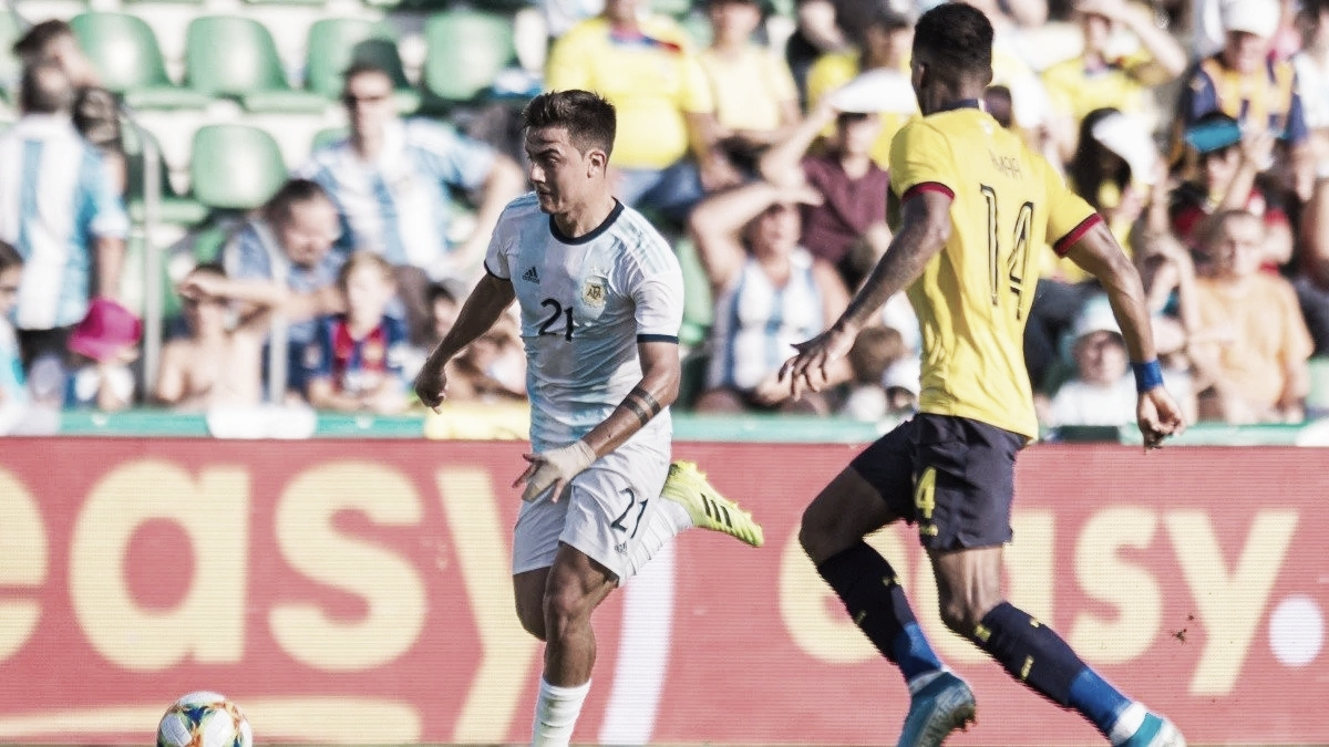 Argentina vs Ecuador EN VIVO hoy (1-0)