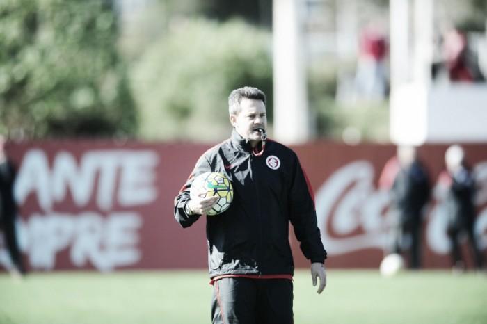 Internacional com mudanças na equipe titular em treino visando duelo com Santa Cruz