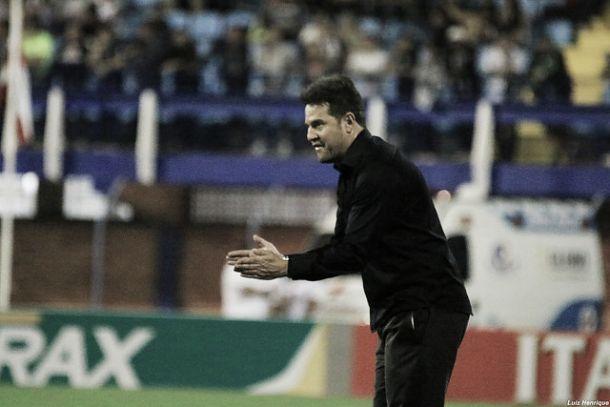 """Argel elogia desempenho do Figueirense mesmo após derrota: """"Fizemos um jogo equilibrado"""""""